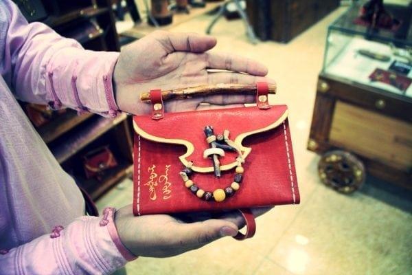 Nomadic Leathern Red Bag