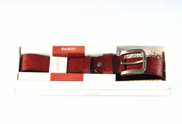 Red mongolian traditional belt