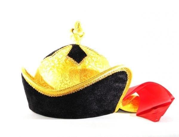 Left Side of Morin Khuur Player's Hat
