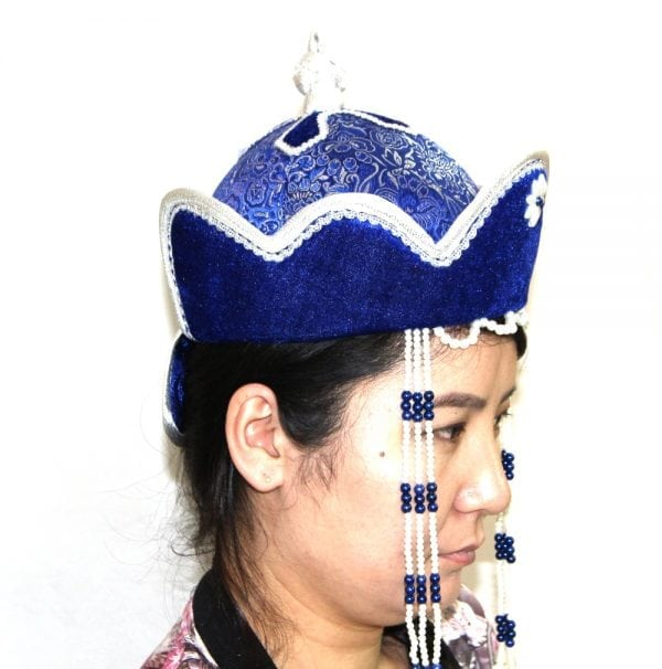Right Side of Women's Pearl Hat