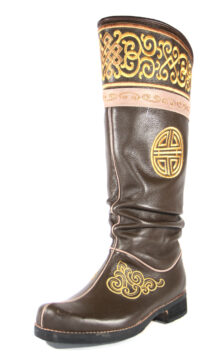 Long Brown Boots