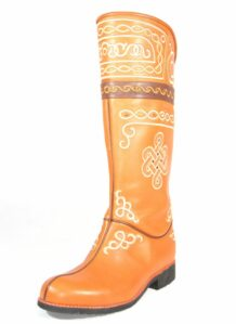 Mongolian Leather Boots