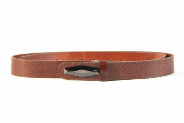 Mongolian Leather Belt