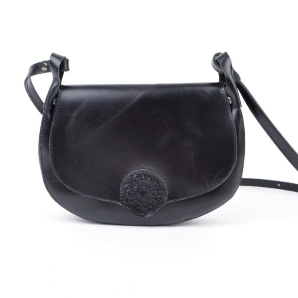 Mongolian Hazaar Square WoMen's Black Handbag