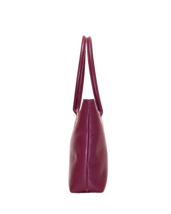 Mongolian MR Purple Leather Bag