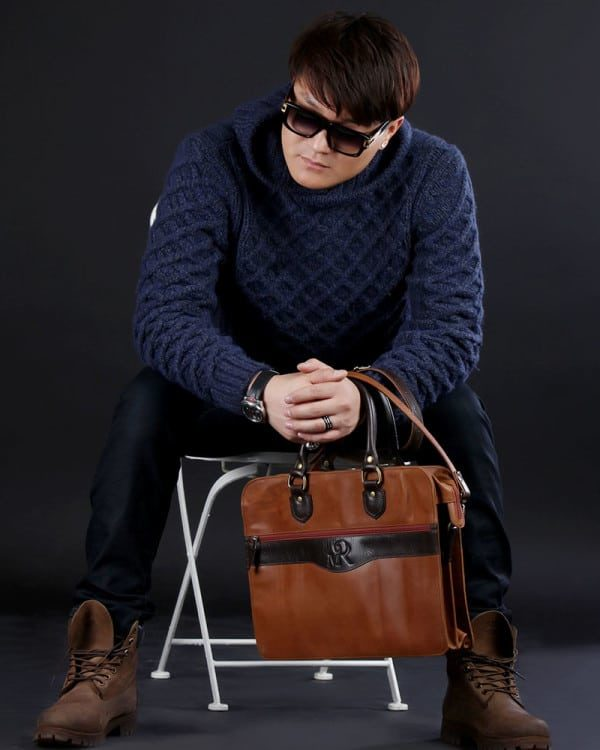 Mongolian MR Small Leather Bag