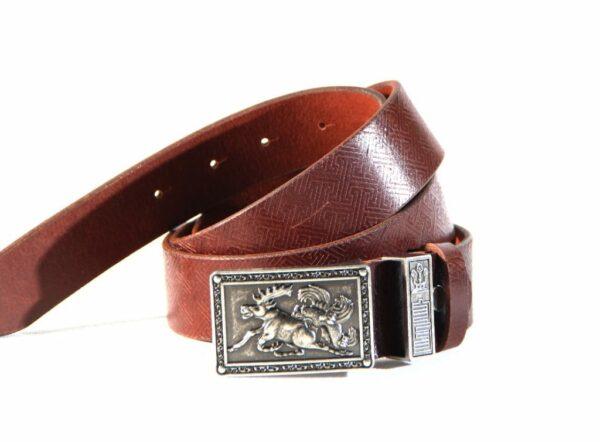 Deer buckle belt