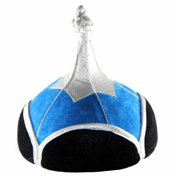 Mongolian Blue Hat
