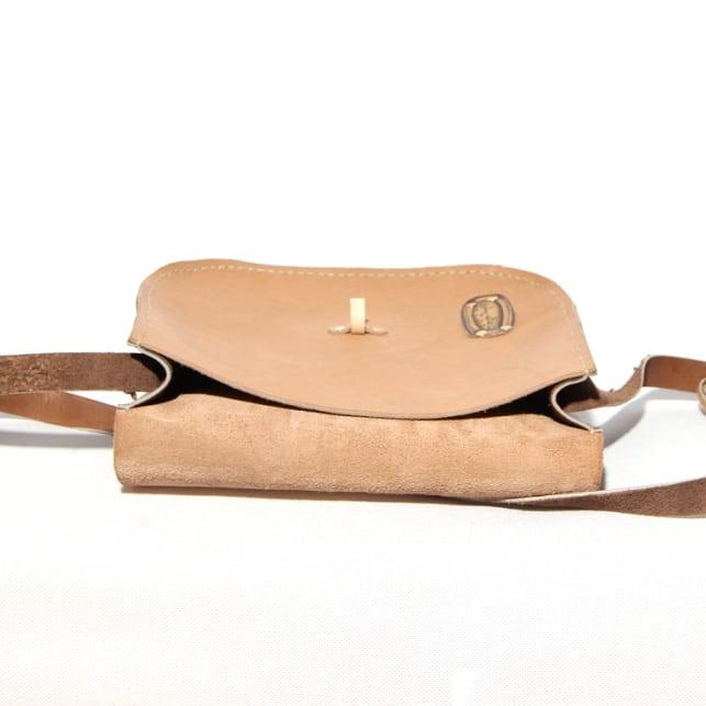 Nomadic Leather Bag inside