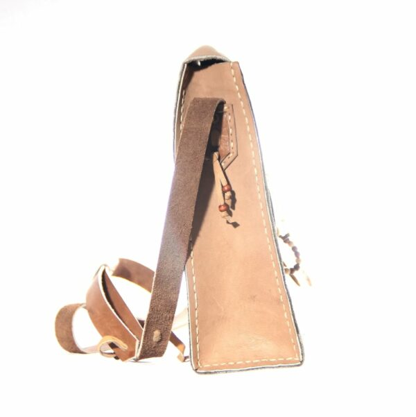 Nomadic Leather Bag side