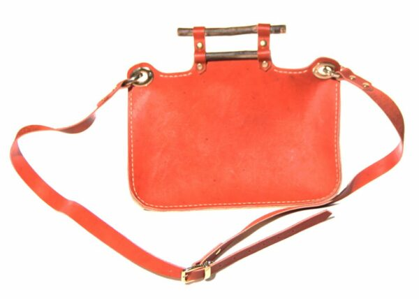 Nomadic Leather Bag back