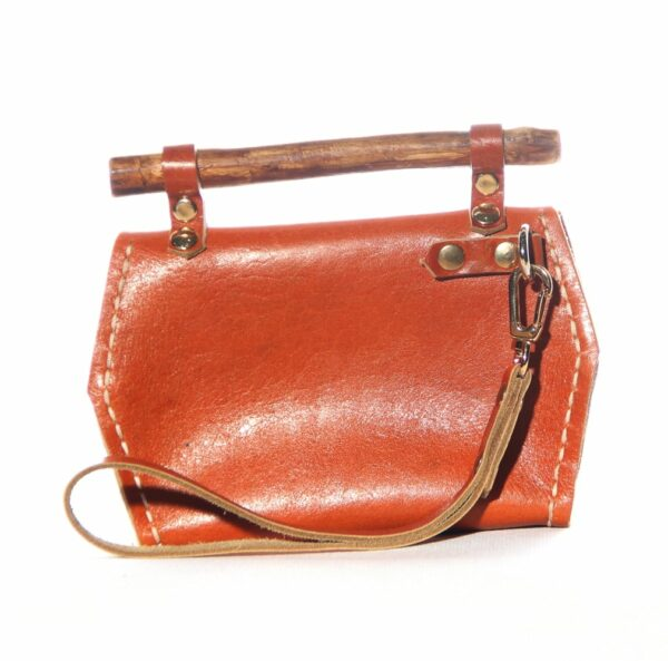 Nomadic Leather Shoulder Bag front