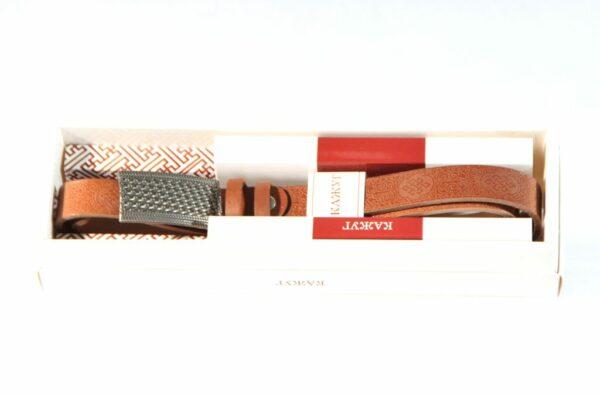 Kajug belt from Mongolia