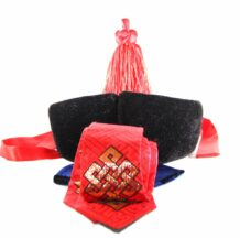 Traditional men hat, red hat