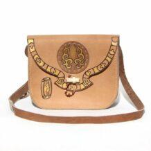 Mongolian Nomadic Leather Bag