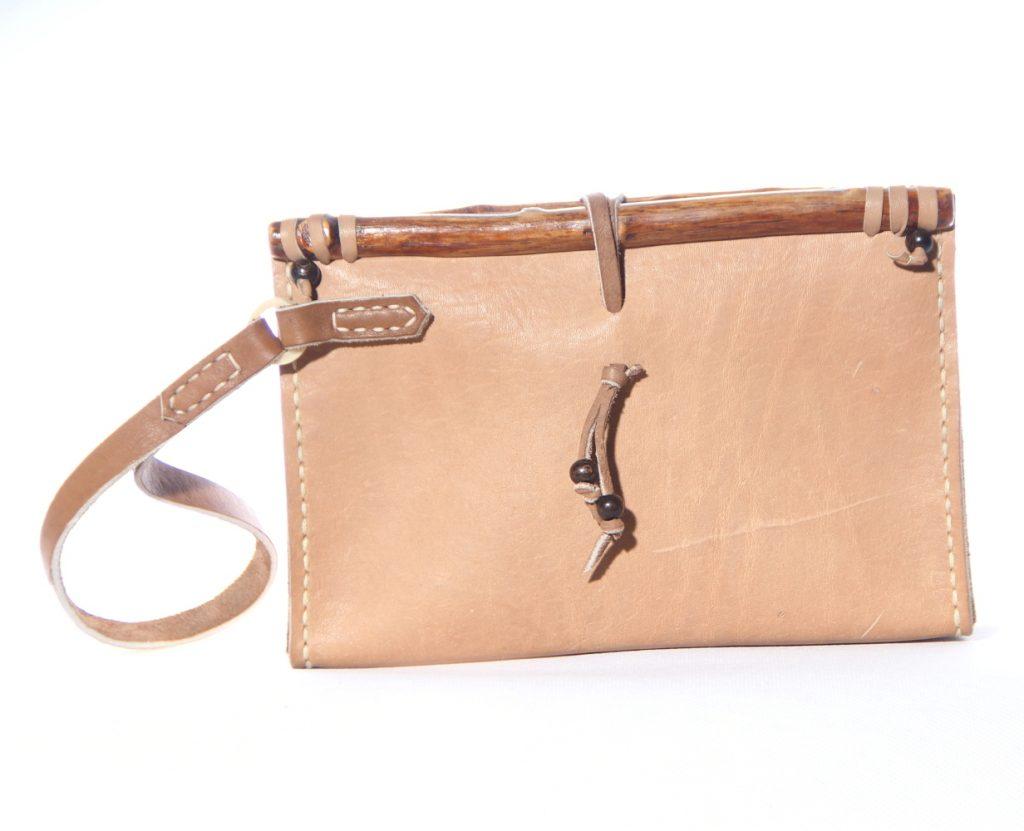 Nomadic Leather Bag side