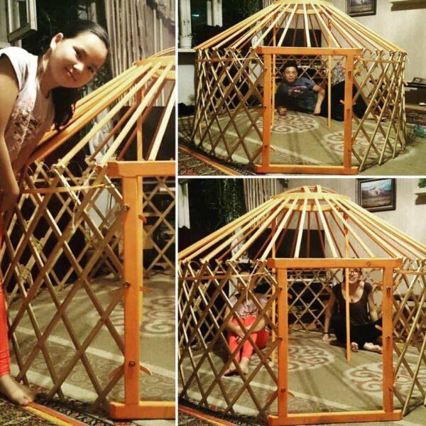 yurt, tent