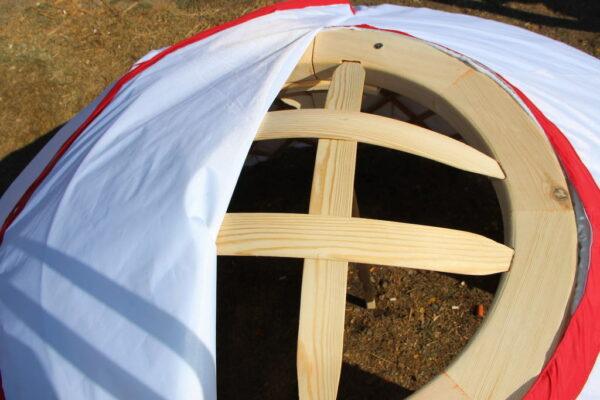 Mini Yurt upper frame