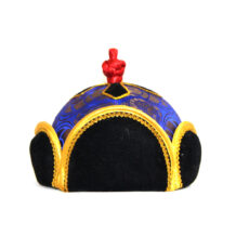 Mongolian Traditional Hat with Ornament