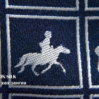 Mon Puzzle necktie 2