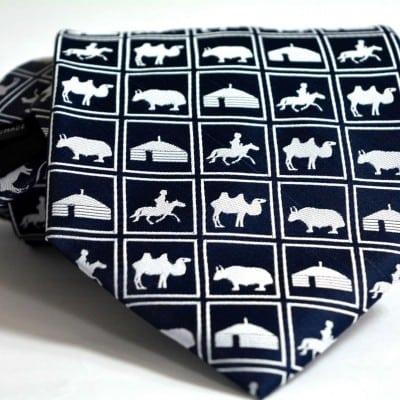 Puzzle necktie 1