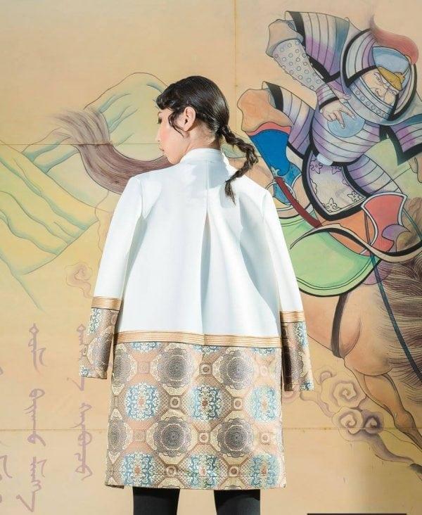 Deel white jacket