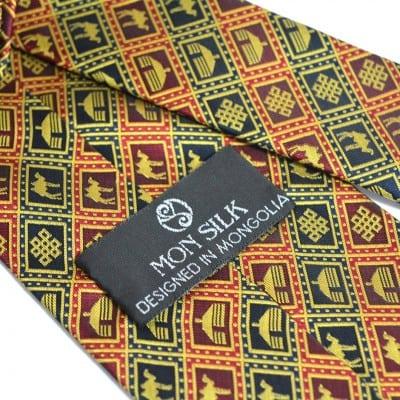 Mongolian Yurt camel Necktie 3