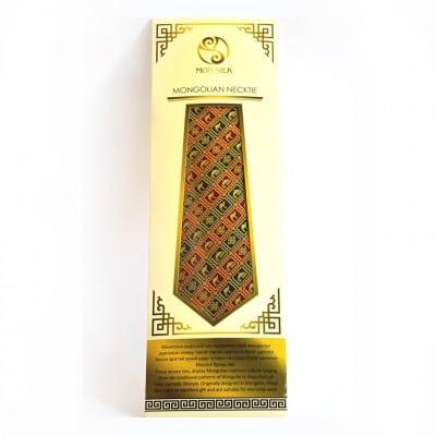 Mongolian Yurt camel Necktie