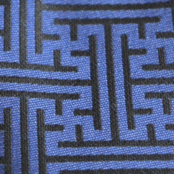 Mongolian calligraphy necktie