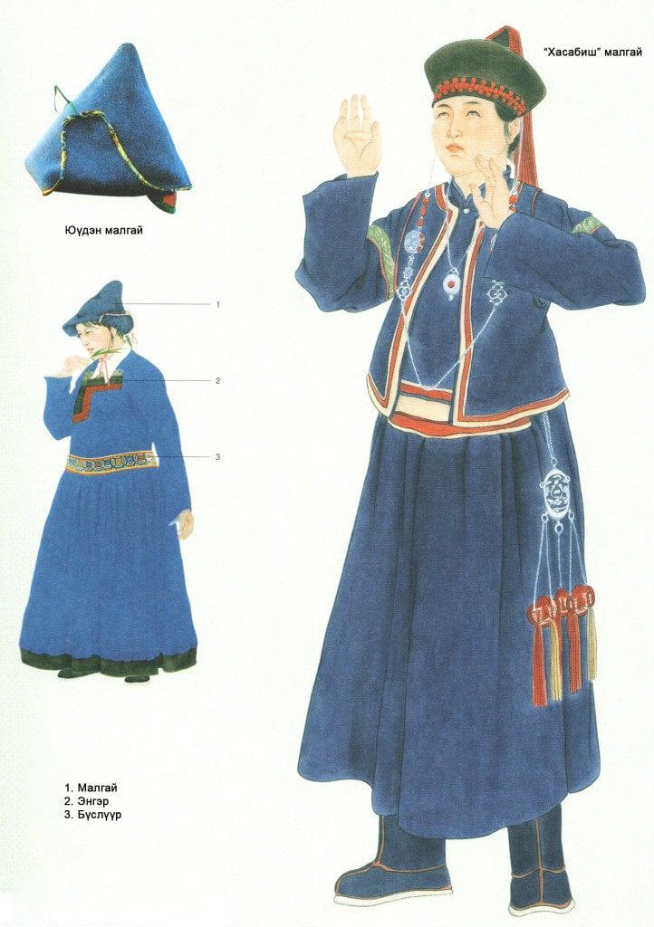 Mongolian hat hasabish