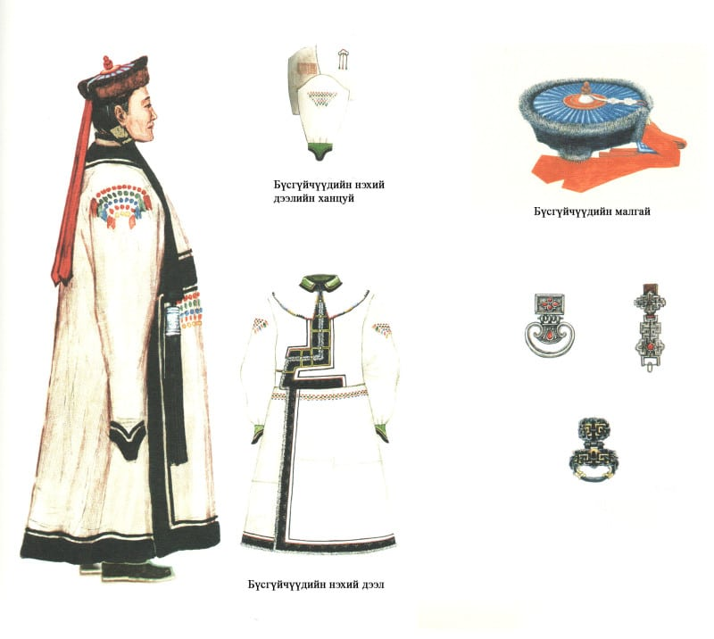 Mongolian hat zahchin