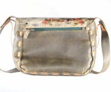 Mongolian Beige Bag With An Art