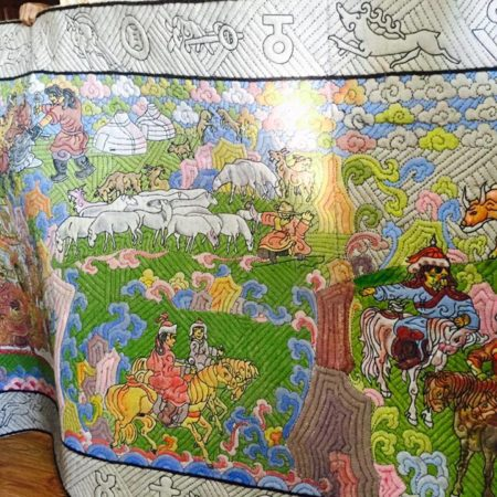 Mongolian Ornamental Patterns