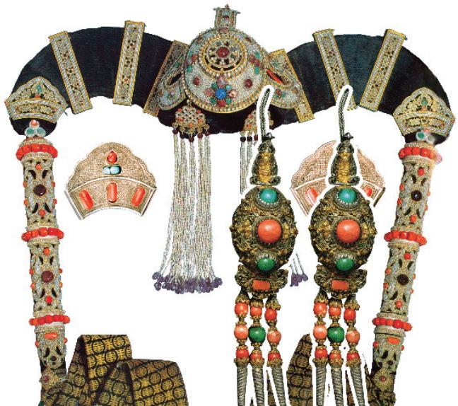mongolian queen hat