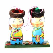 Mongolian Small Dolls In a Box