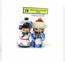 Mongolian souvenir dolls