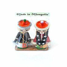 蒙古纪念品娃娃