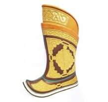 Yellow Mongolian Boots