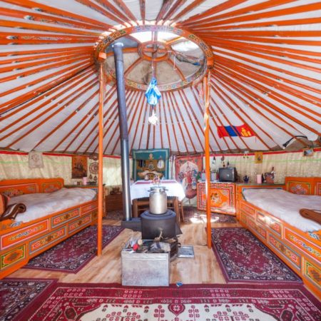 Cultural Meaning of Mongolian Yurt Ornaments