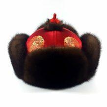 蒙古裘皮帽