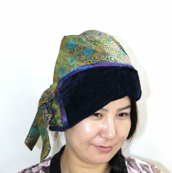 Mongolian Traditional Style Slouchy Hat