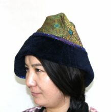 蒙古传统风格的休闲帽子