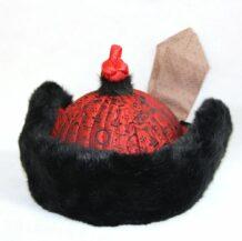 蒙古毛皮人造毛皮帽,蒙古族传统帽子