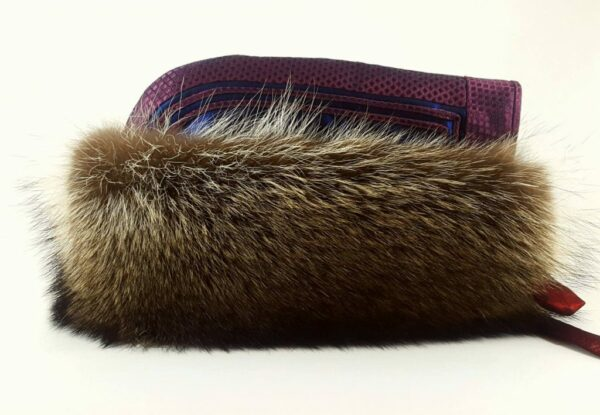 Mongolian Winter Sable fur hat, Mongolian traditional style