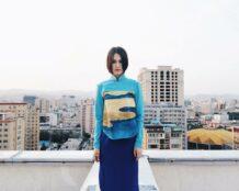Blue Shirt With Art