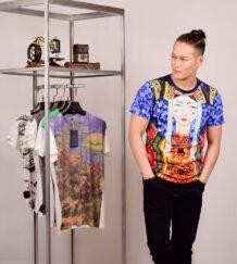Mongolian Men T-Shirt with Art