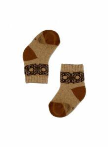 brown baby socks 2