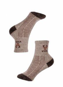 brown kids socks