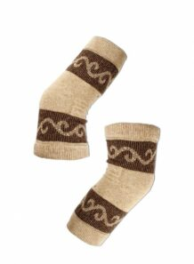 Light Brown Woolen Knee Pad