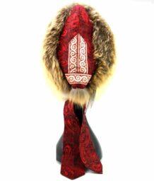 Mongolian Fox Silk Raccoon Hat